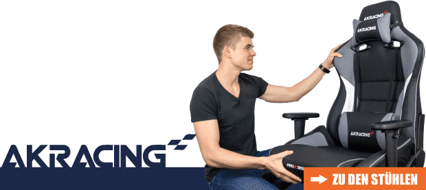 AKRacing stool in the test