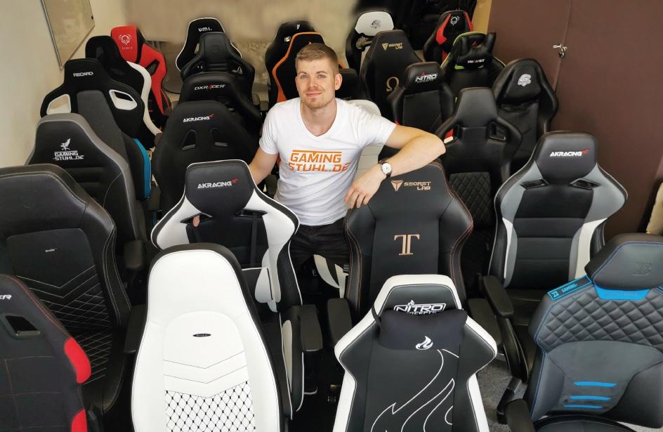 Gamer PC chair test