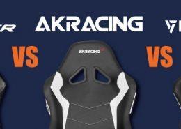 AKRacing vs DXRacer vs Vertagear