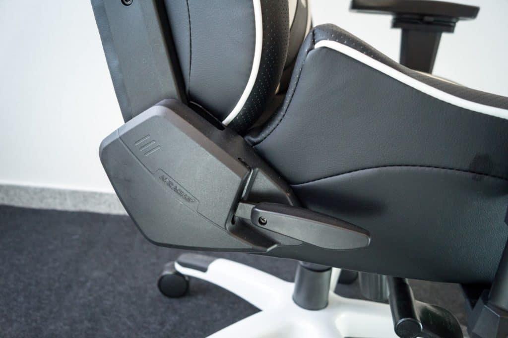backrest-lever