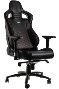 Epic PC Chair black, red, white