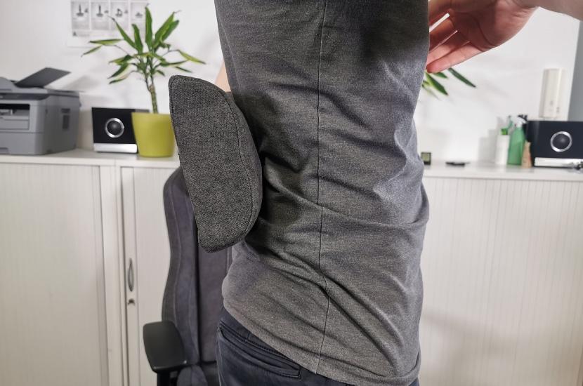 lumbar cushion-in-lordose