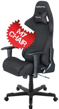 The best gaming chair - pro DXRacer racing series model fd01/n.